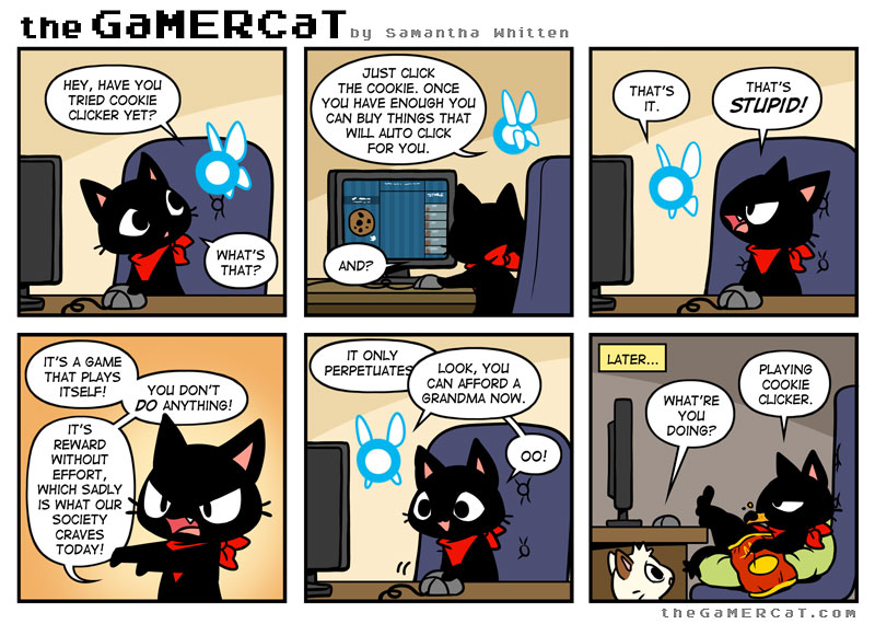 Cookie Monster The Gamercat