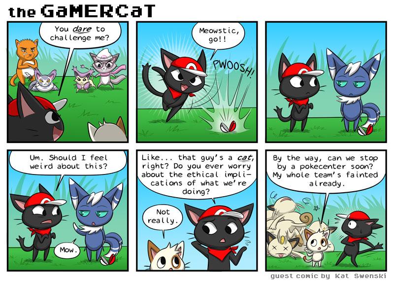 Catemon – Guest Comic